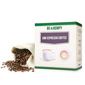 Espresso kava s CBD konopljinim cvetom